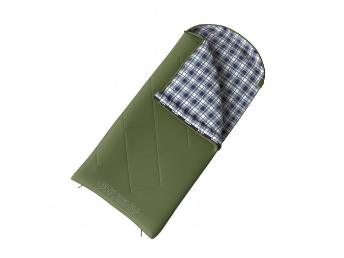 Husky Spacák dekový   Kids Galy -5°C zelená  spací pytel