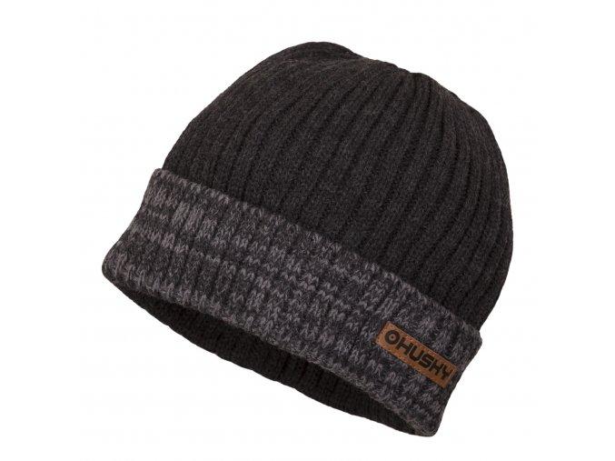 Husky čepice   Hat 2 šedá