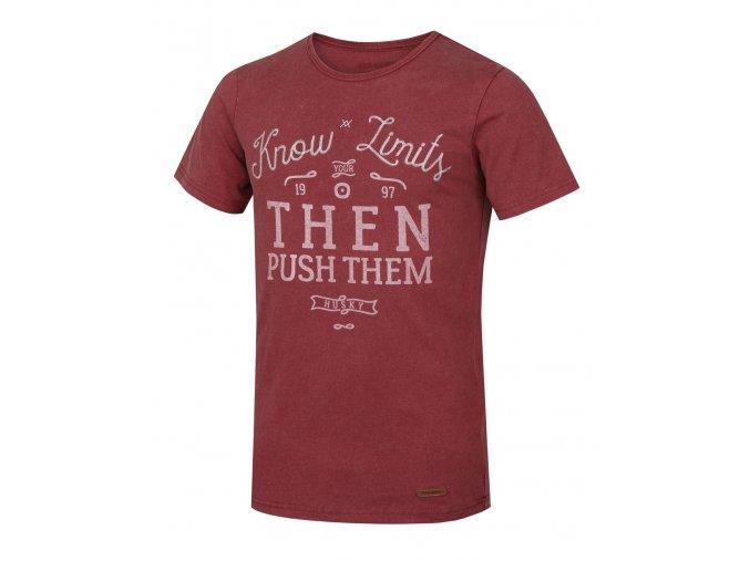 Husky Pánské triko   Tempu M červená