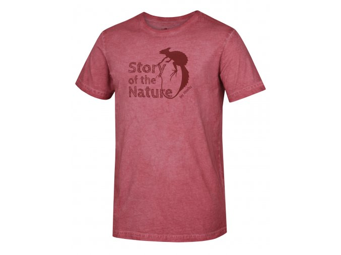 Husky Pánské triko   Tendr M červená