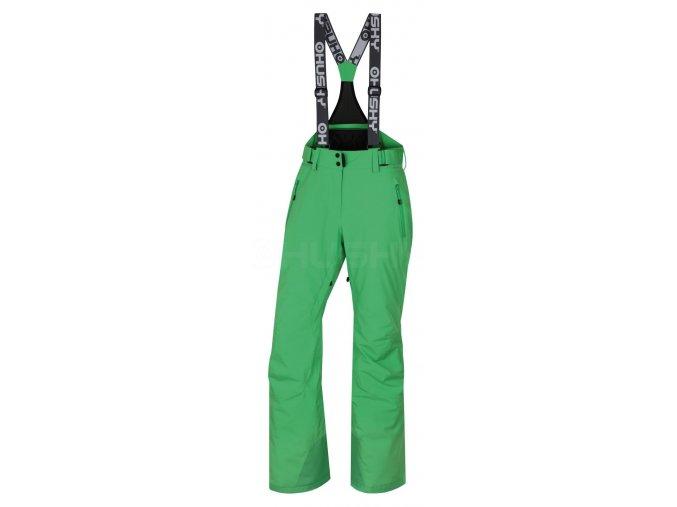 Husky Dámské lyžařské kalhoty  Mithy L sv. zelená