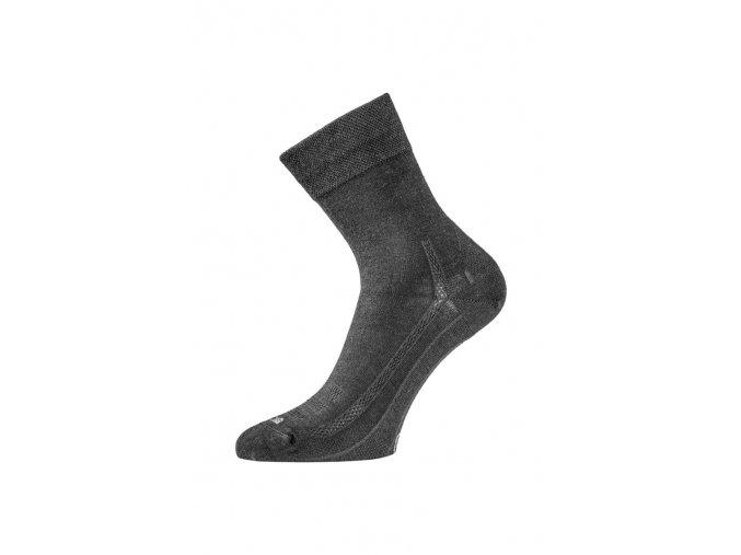 Lasting WLS-909 černé vlněné ponožky  ponožky