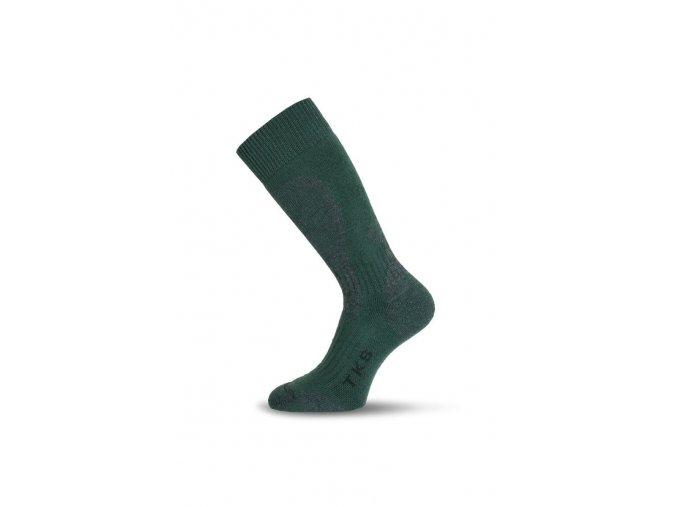 Lasting TKSK 809 zelené trekingové podkolenky  ponožky