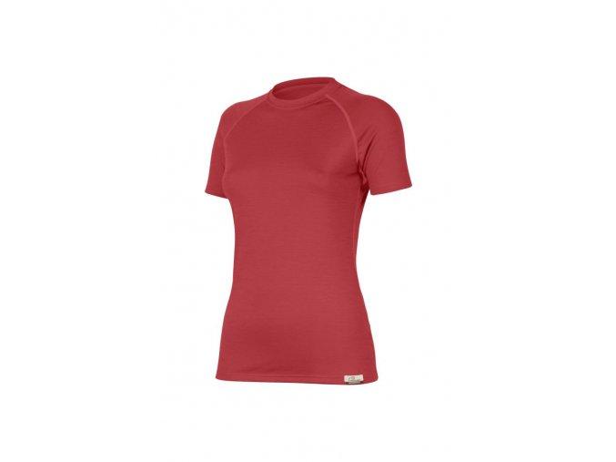 Lasting ALEA 3636 červené vlněné merino triko