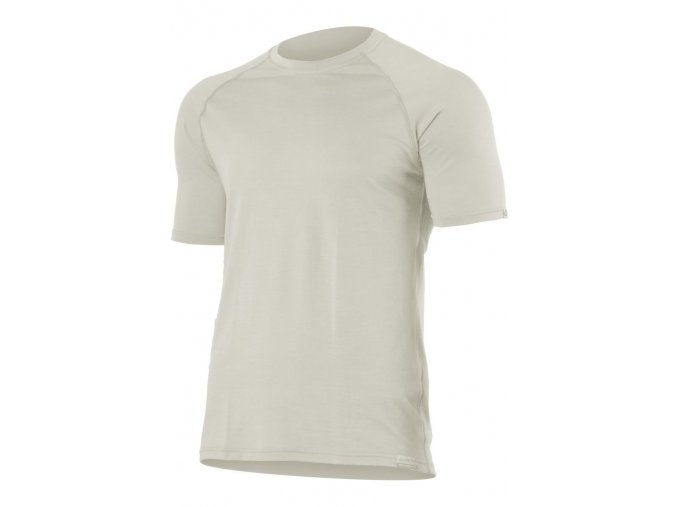 Lasting QUIDO 0202 režné vlněné merino triko