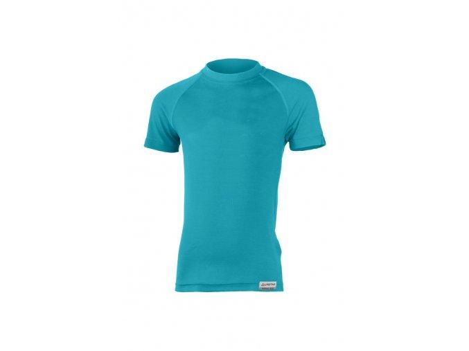 Lasting HARY 6565 zelená Vlněné Merino triko
