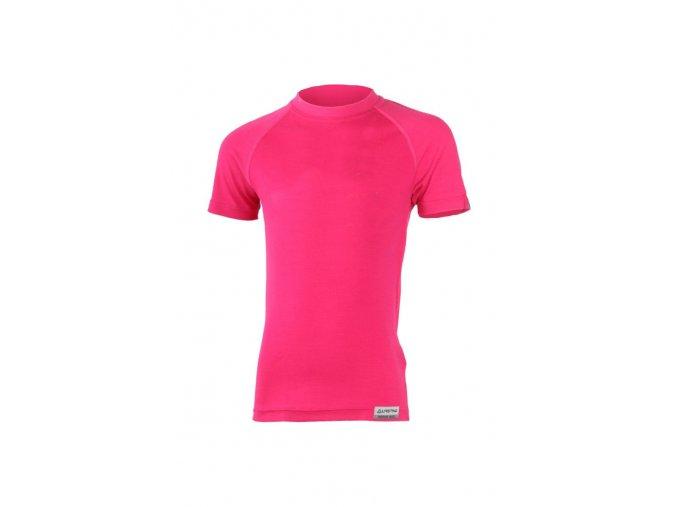 Lasting HARY 4747 růžová Vlněné Merino triko