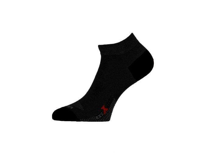 Lasting RXS 909 černé běžecké ponožky  ponožky