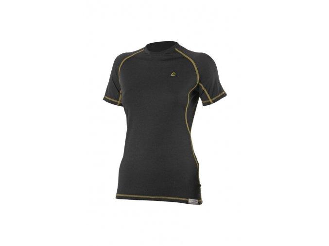 Lasting ZITA 9072 černé vlněné merino triko