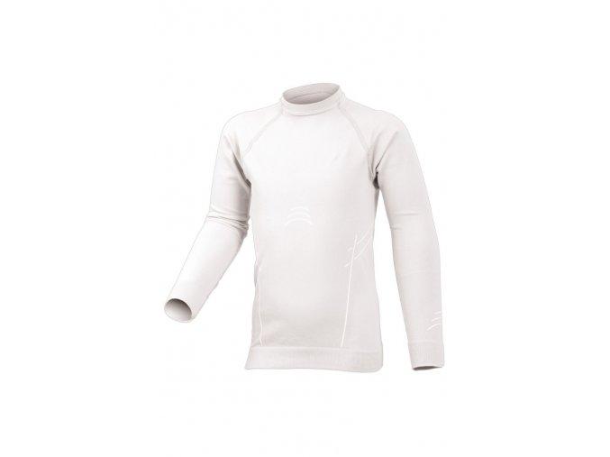 Lasting DARIO 0101 bílé Termo bezešvé triko