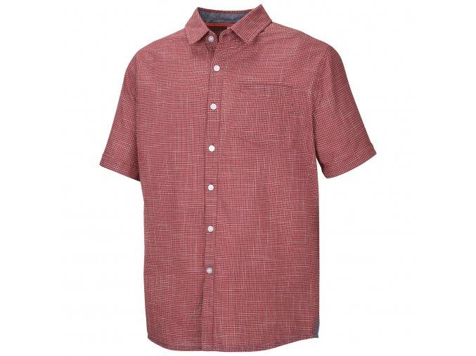 Husky Pánská košile   Grimy M tm. červená