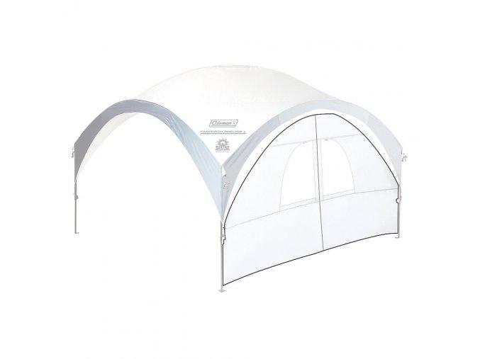 232752 coleman fastpitch shelter sunwall door xl