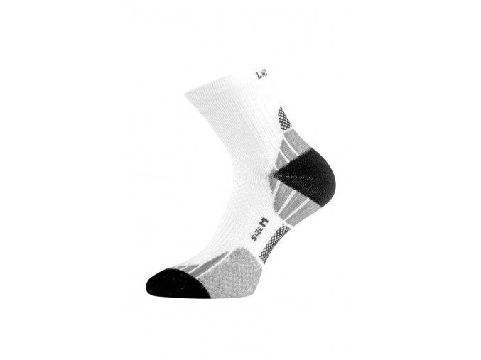 Lasting ATL ponožky pro aktivní sport 009 bílá  ponožky
