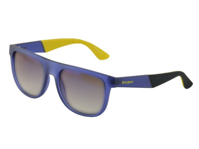 Husky Sportovní brýle   Steam modrá/žlutá