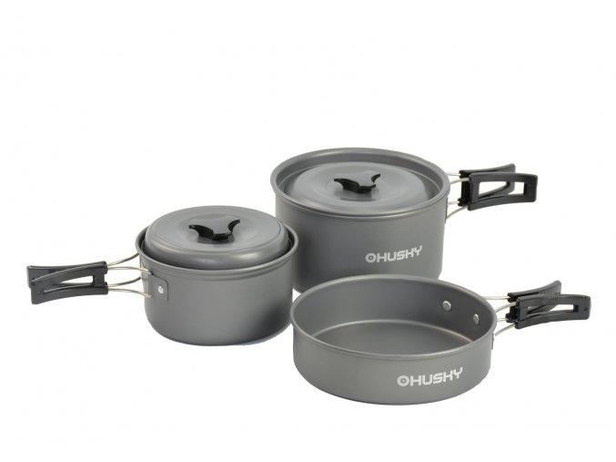 Husky Univerzální set nádobí   Tendo antracit