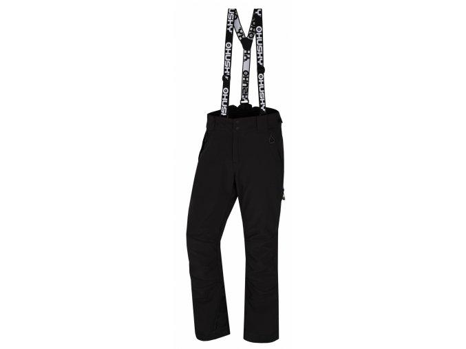 Husky Pánské lyžařské kalhoty  Galti M černá