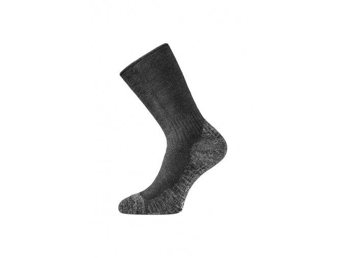 Lasting WSM 909 černé vlněné ponožky  ponožky