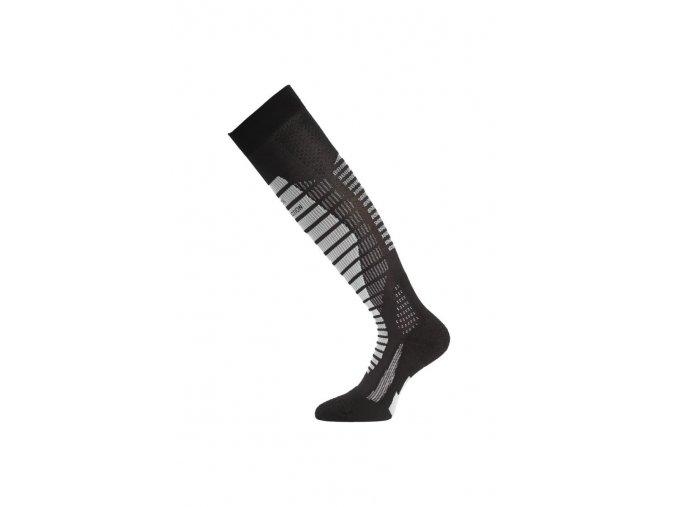 Lasting WRO 908 černé lyžařské podkolenky  ponožky