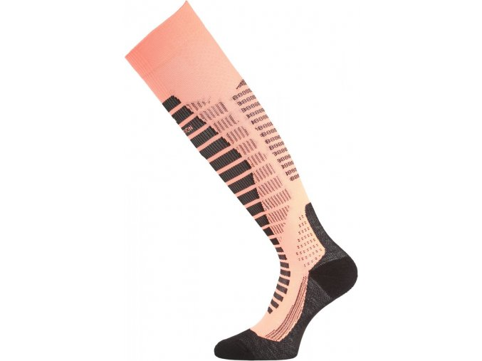 Lasting WRO 209 lososové lyžařské podkolenky  ponožky