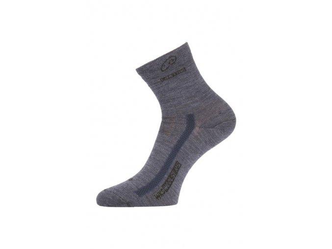 Lasting WKS 504 modré ponožky z merino vlny  ponožky