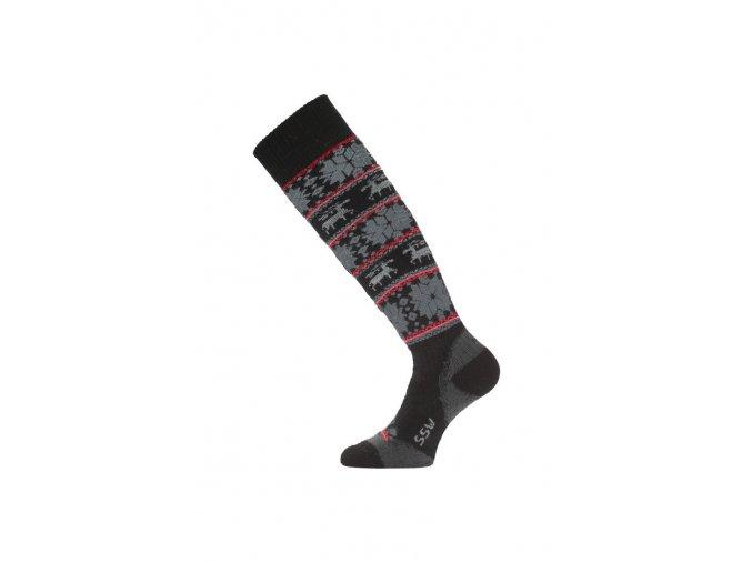 Lasting SSW 903 černá merino ponožky lyžařské  ponožky