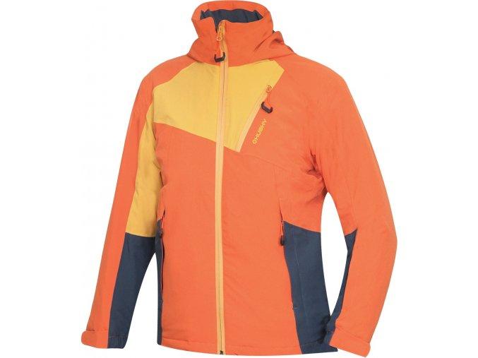 Husky Dětská ski bunda   Zawi Kids tlumená oranžová