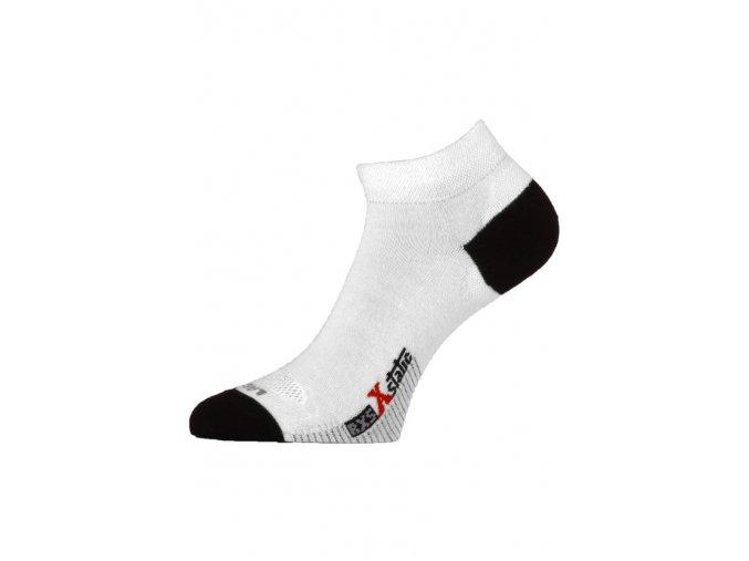 Lasting RXS 001 bílé běžecké ponožky  ponožky