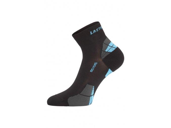 Lasting CTF černá cyklo ponožky  ponožky