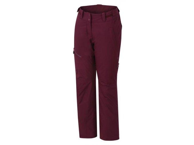 Hannah Tibi II grape wine  dámské kalhoty