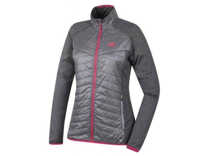 Hannah Edun alloy/light gray mel  dámská bunda