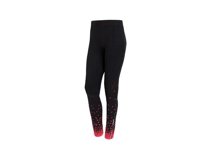 SENSOR DOTS dámské kalhoty dlouhé černá/růžová