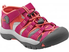 Keen Newport H2 Jr VERY BERRY/FUSION CORAL