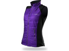 Trimm CANDY VEST Violet / Black