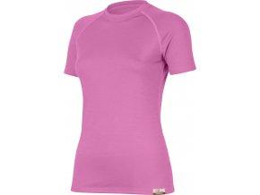 Lasting ALEA 3535 růžová vlněné Merino triko