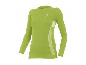 Lasting MARELA 6101 zelená bezešvé triko