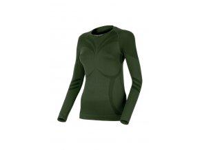 Lasting ATALA 6262 zelená termo bezešvé triko