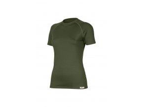 Lasting ALEA 6262 zelená vlněné Merino triko