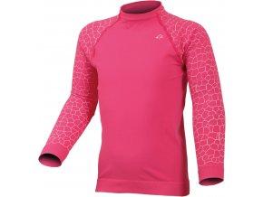 Lasting DARMA 3401 růžová Termo bezešvé triko
