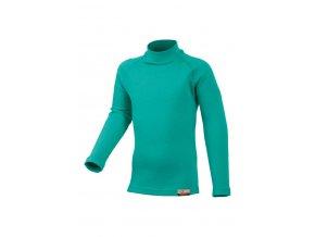 Lasting SONY 6565 zelená Vlněné Merino triko