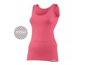 Lasting KARINA 3232 Lososová vlněné Merino triko