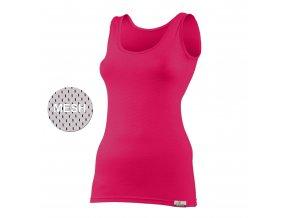 Lasting KARINA 4747 růžová vlněné Merino triko