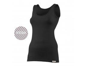 Lasting KARINA 9090 černá vlněné Merino triko