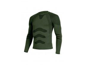 Lasting APOL 6262 zelená termo bezešvé triko