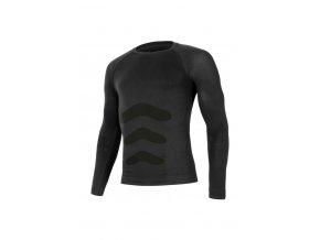 Lasting APOL 9090 černá termo bezešvé triko