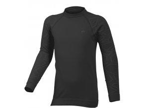 Lasting DIAZ 9001 černá Termo bezešvé triko