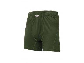Lasting NICO 6262 zelená vlněné Merino boxerky
