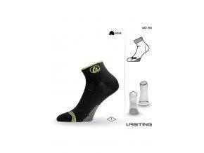 Lasting ABD ponožky pro aktivní sport 968 černá  ponožky