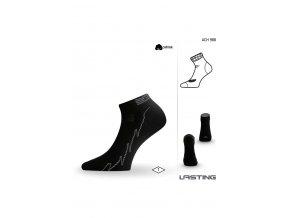 Lasting ACH ponožky pro aktivní sport 988 černá