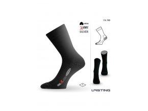 Lasting CXL 900 černá trekingová ponožka  ponožky