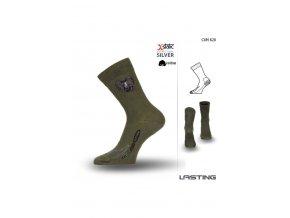 Lasting Letní ponožka CXM 620 zelená